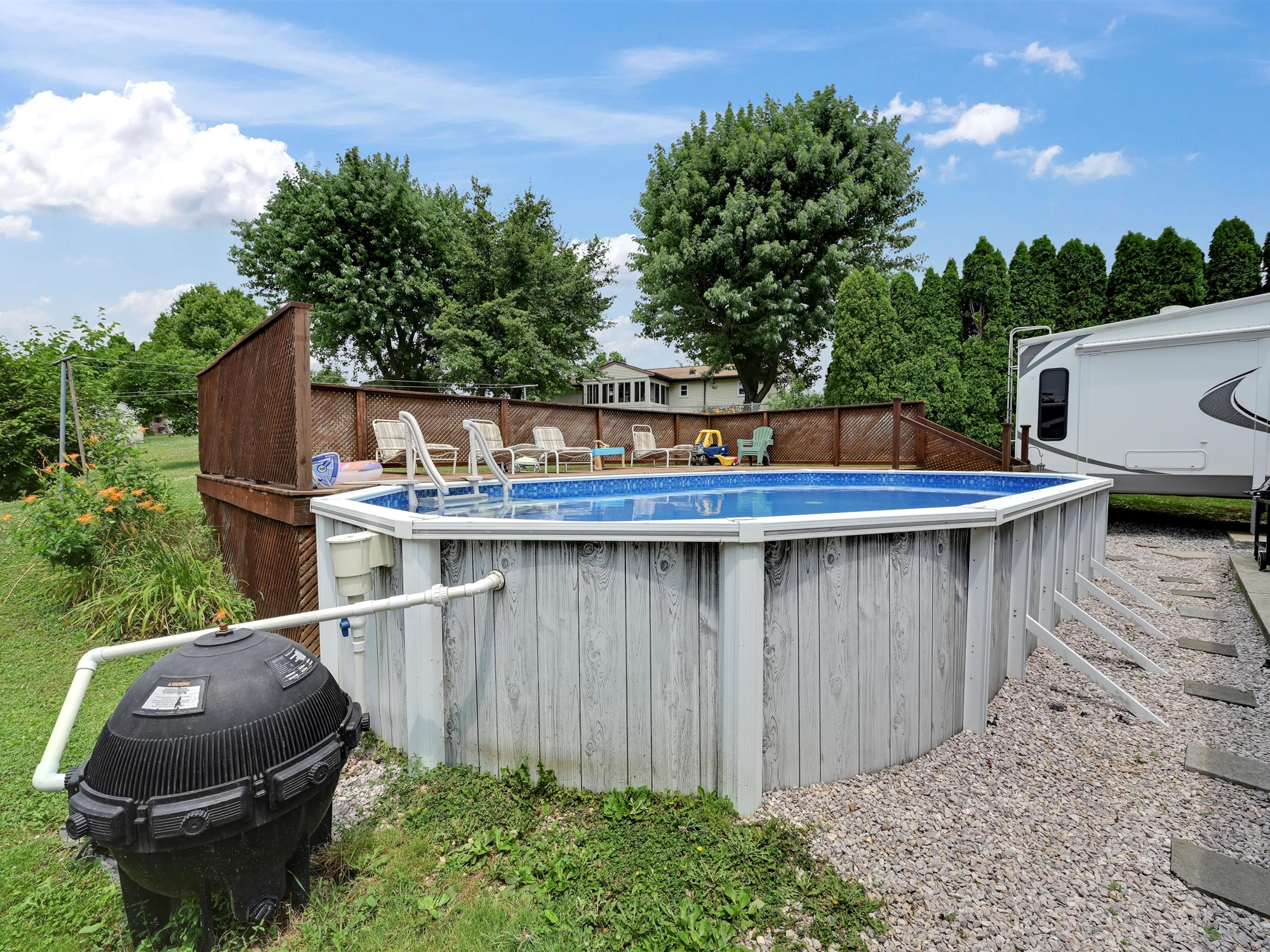 1617 Greenwood Dr. - pool view 2
