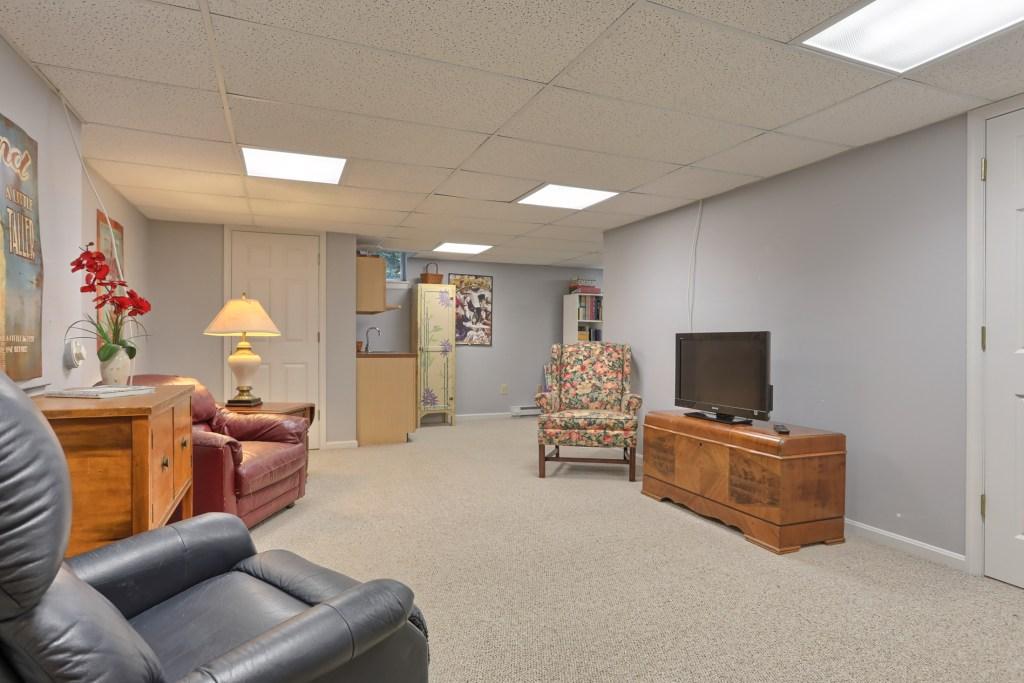 233 Troon Way - Basement Living Area