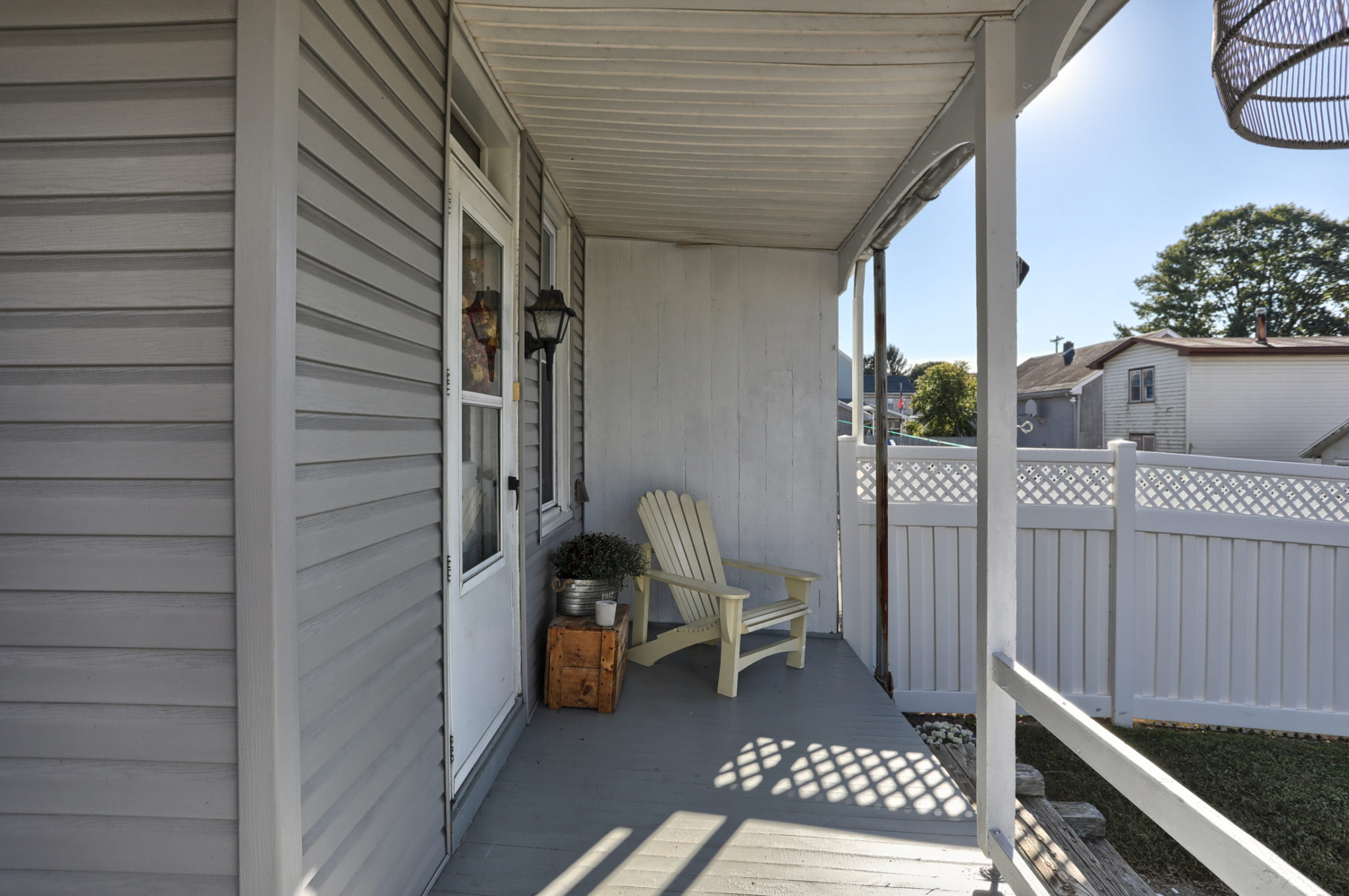 12 E. Maple Avenue - Back Porch of this Myerstown Home