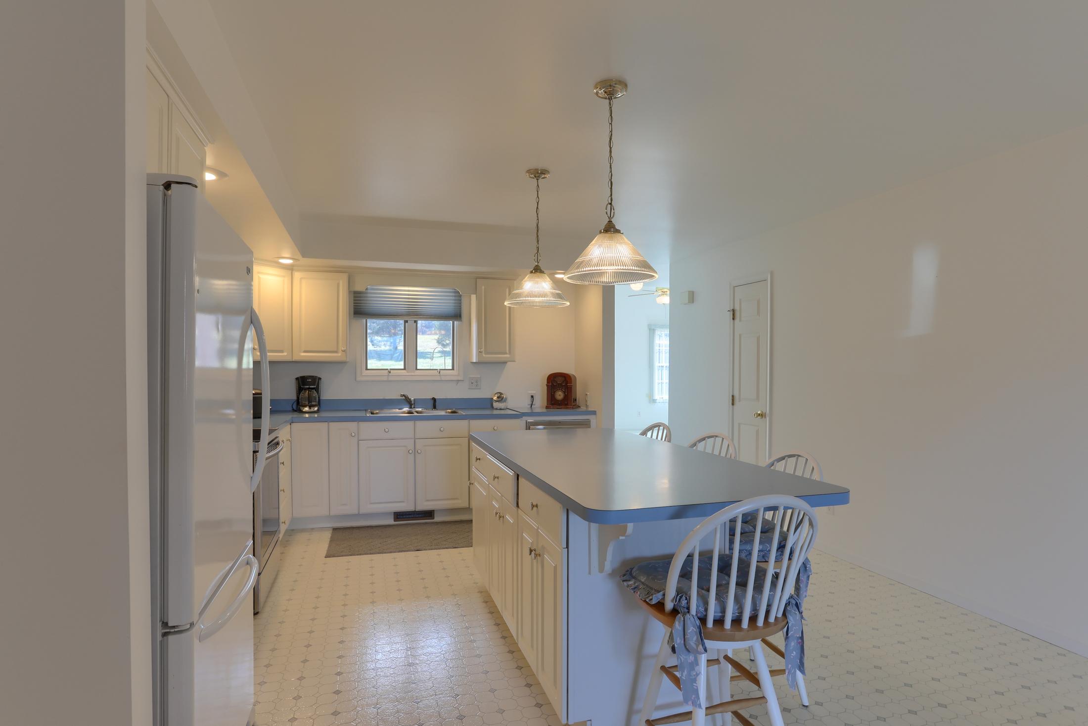26 W. Strack Drive - Kitchen with Island