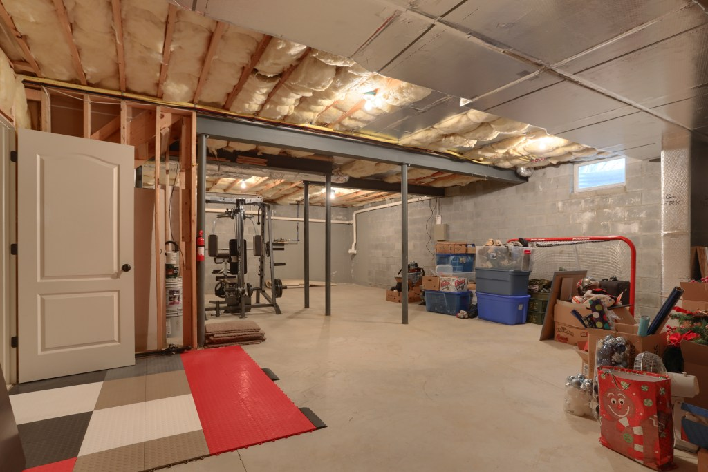 2000 Mallard Lane - spacious basement storage area