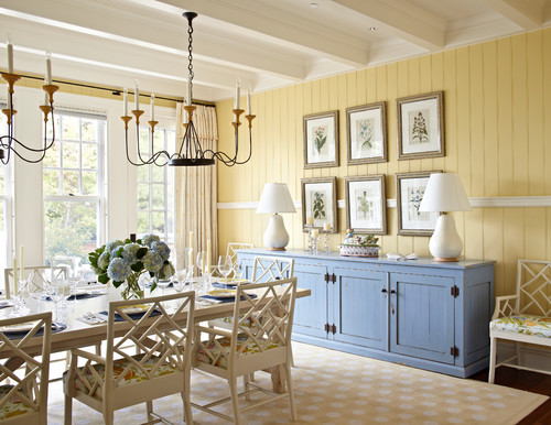 Dining Room | Michigan Summer Home by Tom Stringer Design Partners | Browse dining room ideas via Houzz