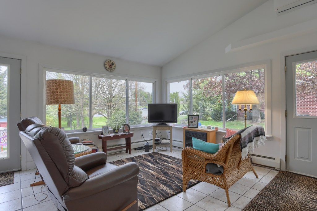 17 E. Hill Street - Sunroom with lots of natural light