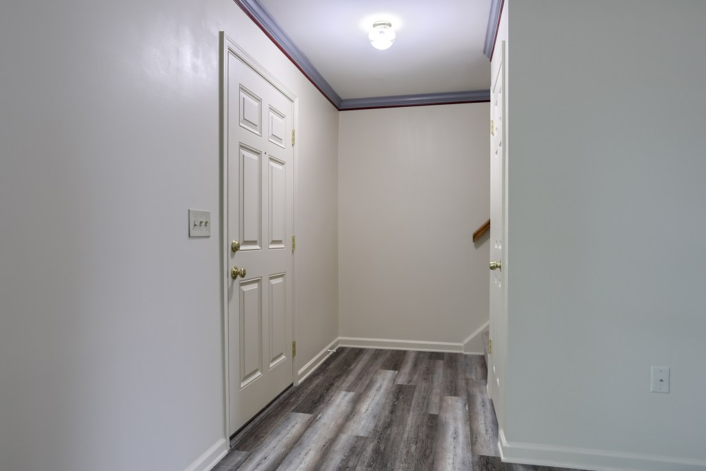 25 Tiffany Lane - entrance to this move in ready townhome
