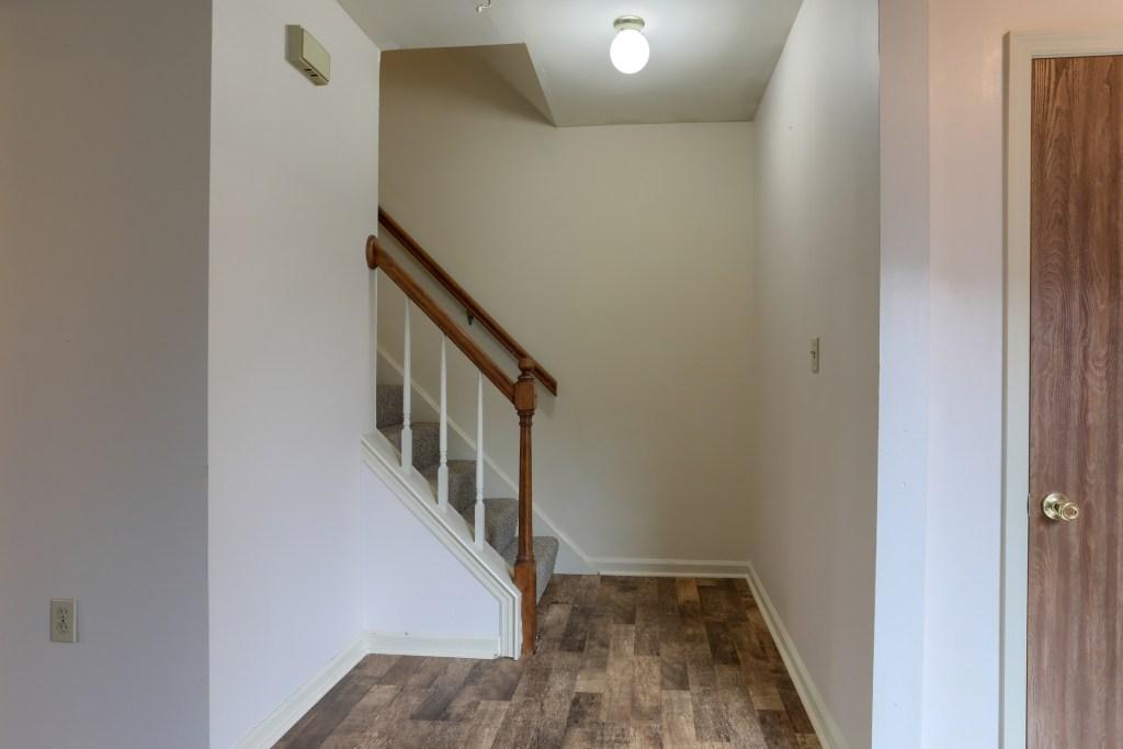 2158 Walnut STreet - stairs to second floor
