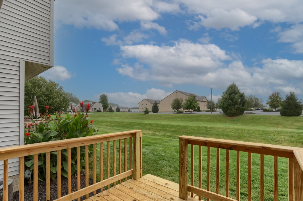 2158 Walnut STreet - backyard with view in convenient townhome