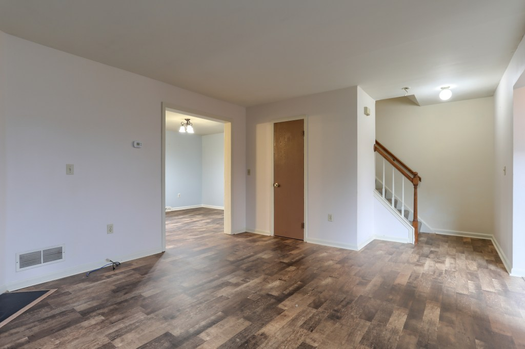 2158 Walnut Street - Living room in this convenient townhome for sale