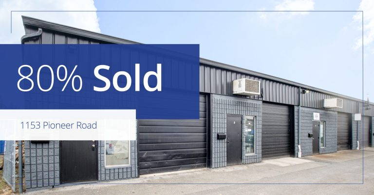 1153 Pioneer Road, Burlington - Now 80%  Sold