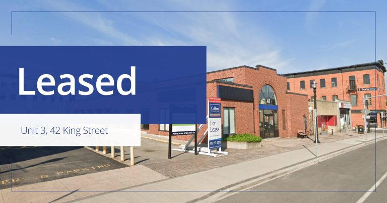 42 King Street West - Leased - Colliers