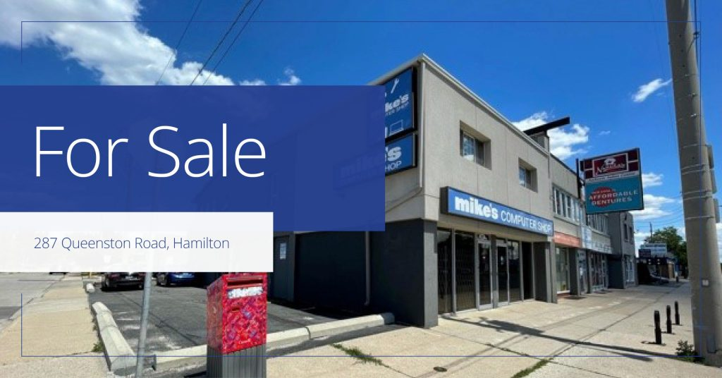 287 Queenston Road - For Sale - Colliers - 2