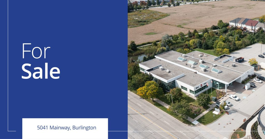 5041 Mainway - For Sale - Colliers