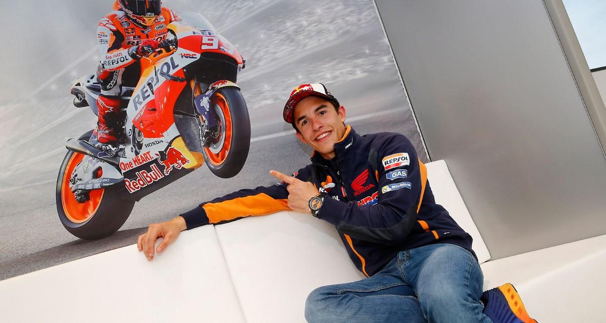 Marc Márquez renueva con Honda Racing Corporation hasta 2018