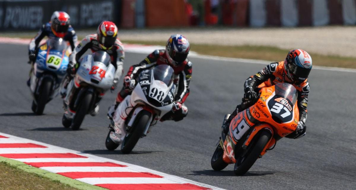 Davide Pizzoli, sin recompensa en el GP de Cataluña