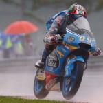Un valiente Jorge Navarro termina séptimo bajo la lluvia