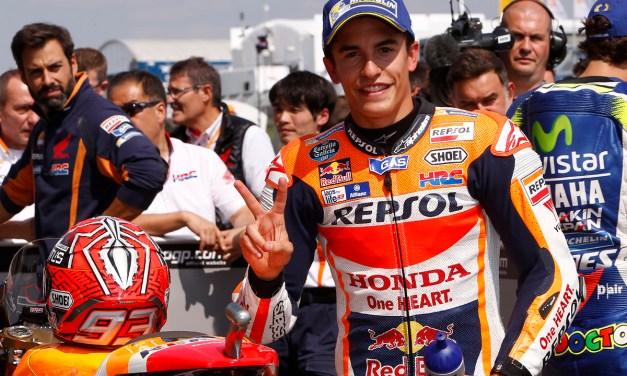 Marc Márquez logra su séptima 'pole' consecutiva en Sachsenring