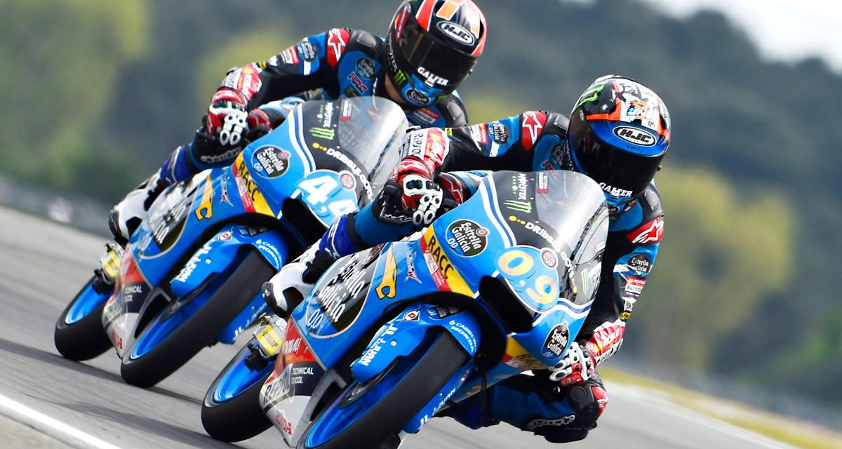 Navarro mejora y viajará a Sachsenring junto a su compañero de filas Arón Canet