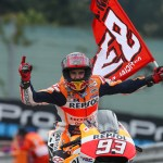 El equipo Repsol Honda inicia la segunda mitad del Mundial con Marc Márquez en cabeza