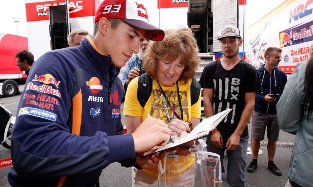 El equipo Repsol Honda completa un día de pruebas en Brno