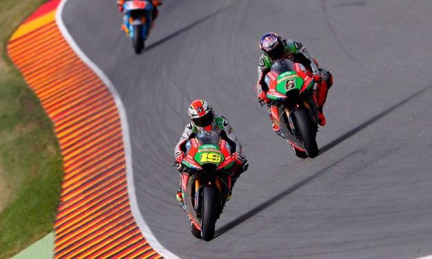 Nueva prueba para la Aprilia RS-GP