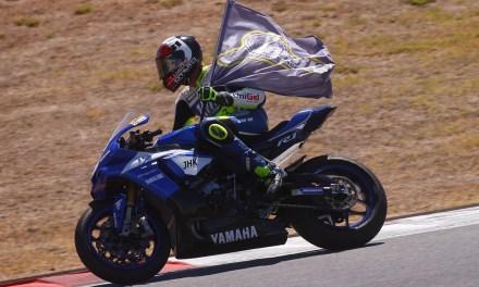 Carmelo Morales da un zarpazo al campeonato en Portimao
