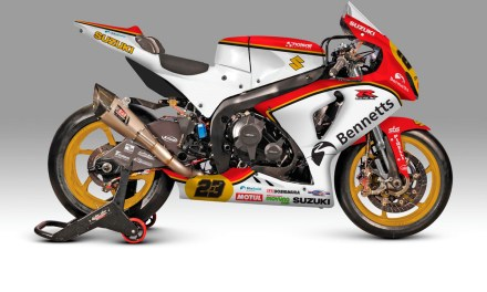 Barry Sheene Livery para Suzuki Bennetts