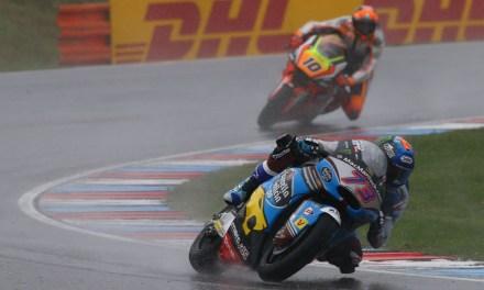 Márquez logra su mejor resultado de la temporada con un quinto puesto bajo el agua en Brno