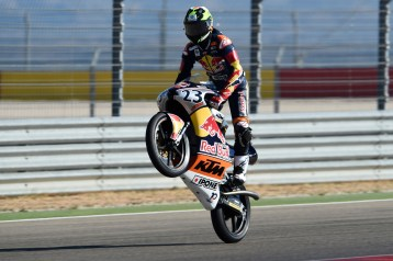 ALCANIZ,SPAIN,24.SEP.16 - MOTORSPORTS - Red Bull Rookies Cup, Grand Prix of Aragon, Motorland Aragon. Image shows Raul Fernandez (ESP). Photo: GEPA pictures/ Gold and Goose/ Gareth Harford - For editorial use only. Image is free of charge.
