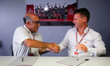 KTM firma un acuerdo de cinco años con Dorna