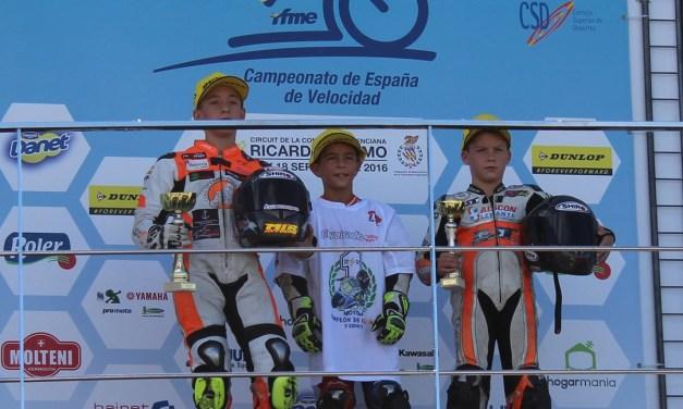 La Cuna de Campeones consigue cuatro podios en su paso por el RFME CEV de Valencia
