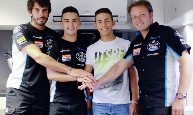 Canet y Bastianini, las puntas de lanza del Team Estrella Galicia 0,0 en 2017