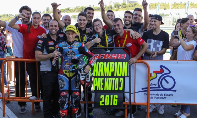José Antonio Rueda, Sergio García y Xavi del Amor, campeones de España