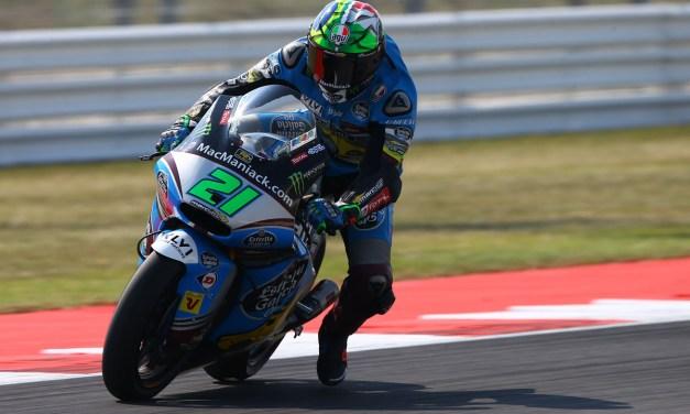 Márquez y Morbidelli comienzan fuerte en un disputado primer día en Misano