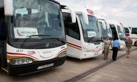 Preparado el dispositivo de autobuses para el Gran Premio Movistar de Aragón de MotoGP