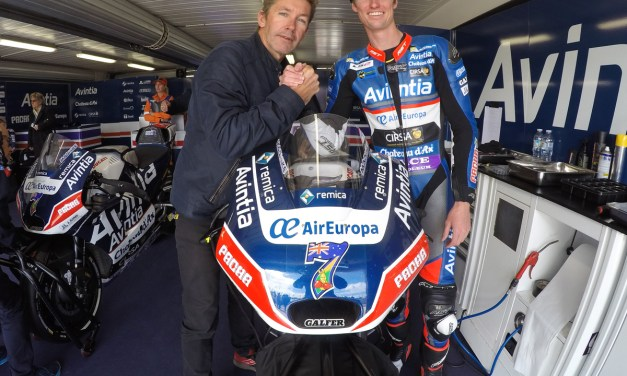Mike Jones logra su primer punto en MotoGP con Avintia Racing