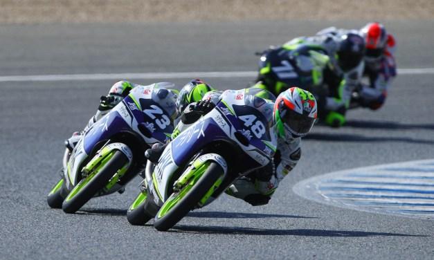 Lorenzo Dalla Porta y Raúl Fernández suben al podio en Jerez