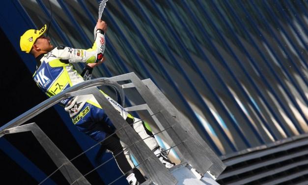 Nuevo podio de Raúl Fernández en Jerez