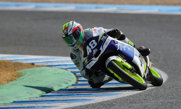 Raúl Fernández saldrá primero en Jerez