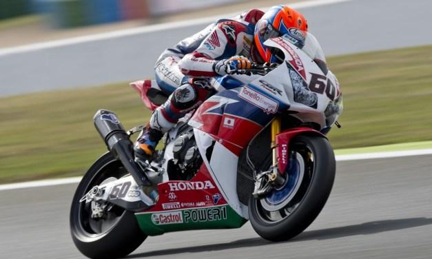 Hayden y van der Mark listo para la batalla en Jerez