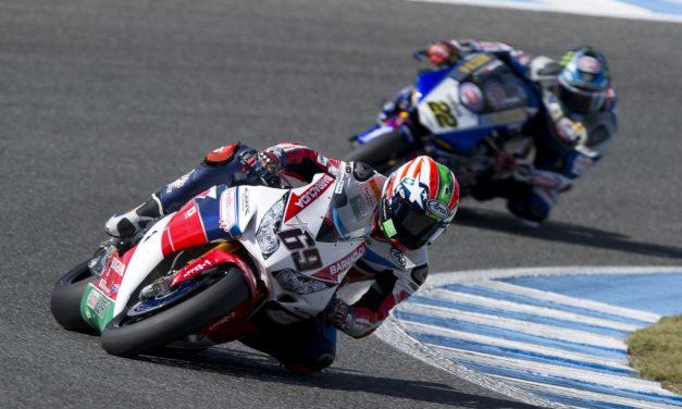 Otra gran actuación para el WorldSBK Honda en la segunda carrera en Jerez