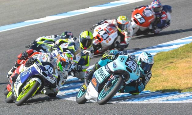 Ramírez y Arbolino ganan en Moto3 en Jerez