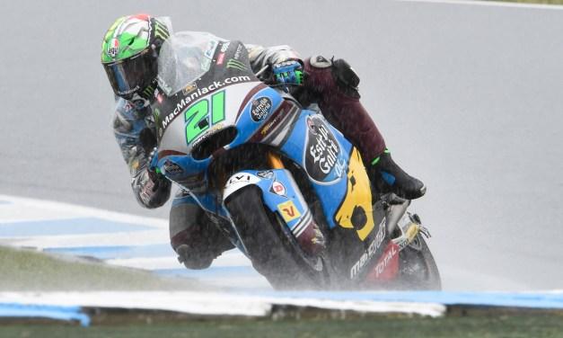 La acción se para en Moto2 debido a la lluvia y al viento en Phillip Island