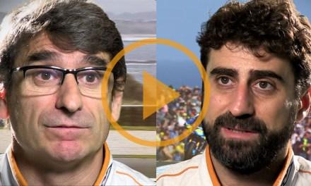 Santi Hernández y Ramón Aurín comentan las características del circuito de Sepang
