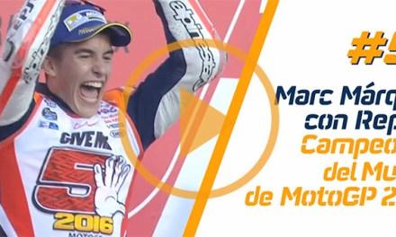 Todos los números llevan a Marc Márquez