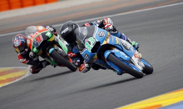 Nakagami y Bastianini los más rápidos en Valencia