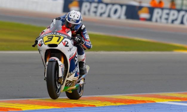 Augusto Fernández despide la temporada con una quinta posición en Valencia