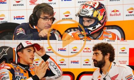 Santi Hernández y Ramón Aurín comentan el trazado del Circuit Ricardo Tormo