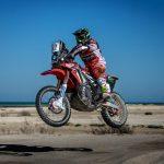 El Monster Energy Honda Team finaliza segundo el Rally de Catar