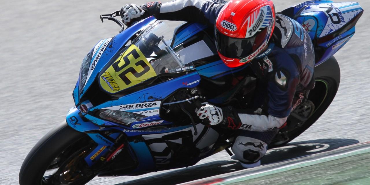 Solorza buscará el podio desde la segunda fila de parrilla del Circuit de Barcelona-Catalunya