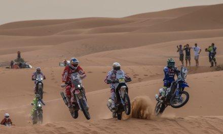 El HIMOINSA Team, segundo en el laberinto de arena del Merzouga Rally