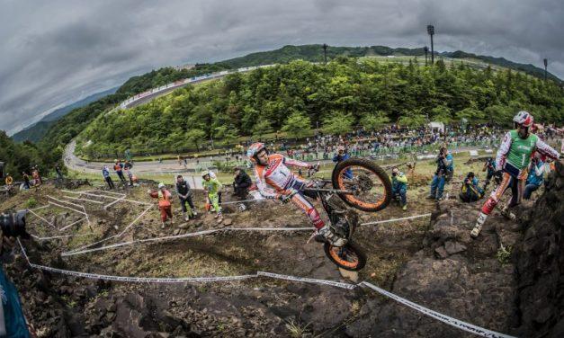 Un magistral Toni Bou arrasa en la primera jornada del TrialGP de Japón